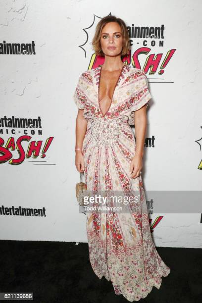 Gabrielle Anwar at Entertainment Weekly's annual ComicCon party in celebration of ComicCon 2017 at Float at Hard Rock Hotel San Diego on July 22 2017...