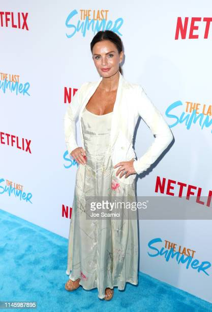 Gabrielle Anwar attends a special screening of Netflix's 'The Last Summer' at the TCL Chinese Theatre on April 29 2019 in Los Angeles California