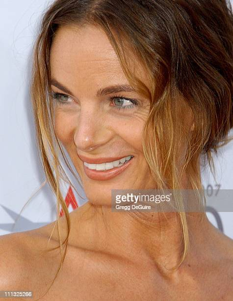 Gabrielle Anwar during Al Pacino Honored with 35th Annual AFI Life Achievement Award Arrivals at Kodak Theater in Hollywood California United States