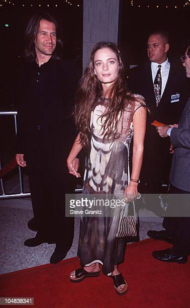 "Gabrielle Anwar during ""Seven Years in Tibet"" Los Angeles Premiere at Cineplex Odeon Century Plaza Cinema in Century City, California, United States."