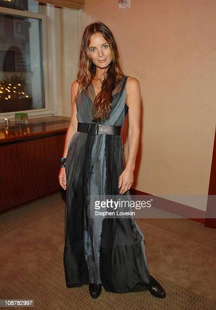 Gabrielle Anwar during The Tudors Advanced Screening March 28 2007 at The W Union Square Hotel in New York City New York United States