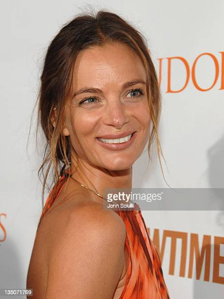 Gabrielle Anwar during The Tudors Premiere Screening Audi Arrivals at Egyptian Theater in Los Angeles California United States