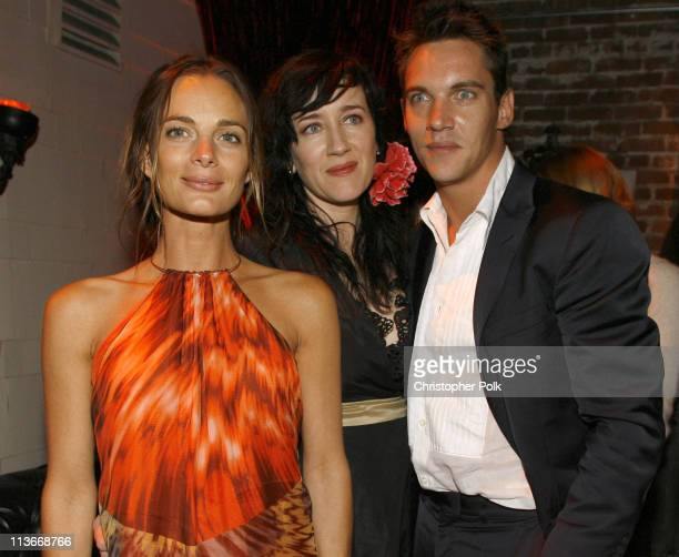 Gabrielle Anwar Maria Doyle Kennedy and Jonathan Rhys Meyers