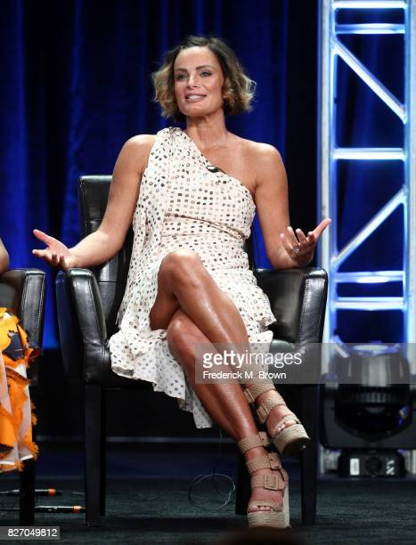 Gabrielle Anwar of Once Upon A Time speaks onstage during the Disney/ABC Television Group portion of the 2017 Summer Television Critics Association...