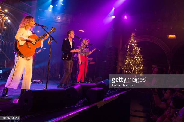 Gabrielle Aplin Alfie HudsonTaylor and Hannah Grace perform at the Union Chapel on December 7 2017 in London England