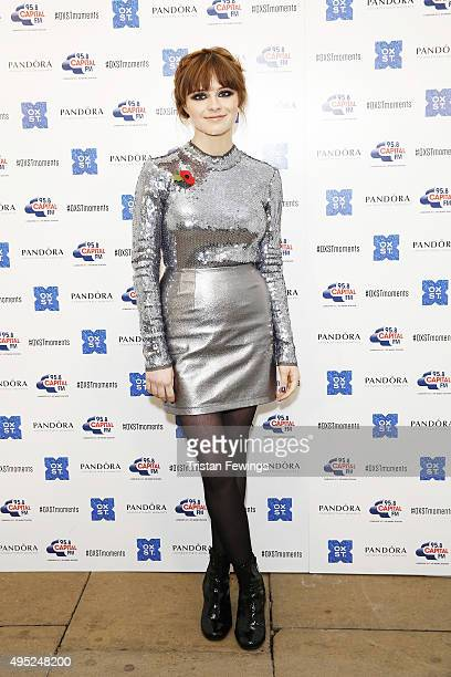 Gabrielle Aplin attends The World Famous Oxford Street Christmas Lights Switch On Event taking place at the Pandora Flagship Store on November 1 2015...