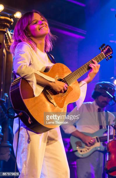 Gabrielle Aplin performs at the Union Chapel on December 7 2017 in London England