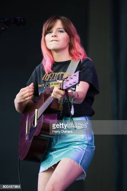 Gabrielle Aplin performs on The Other Stage on day 3 of the Glastonbury Festival 2017 at Worthy Farm Pilton on June 24 2017 in Glastonbury England