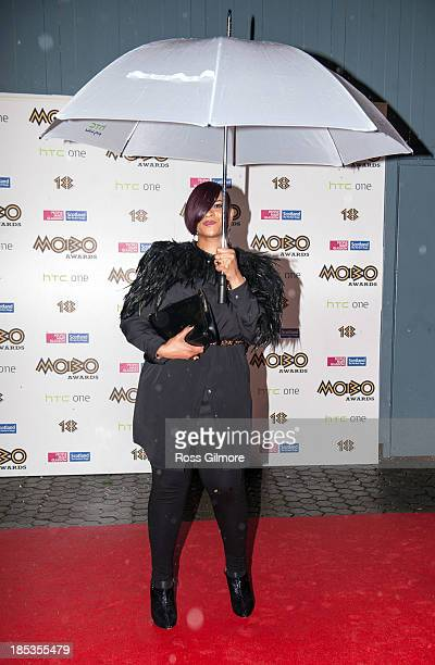 Gabrielle attends the MOBO awards 2013 at The Hydro on October 19 2013 in Glasgow Scotland
