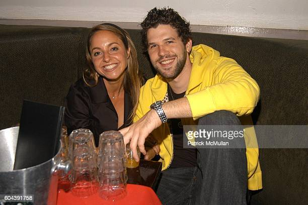Gabrielle Bernstein and Spencer Singer attend Private Launch Party for the 1 Credit Card at Stereo on August 24 2006 in New York City