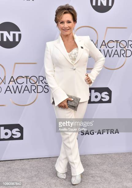 Gabrielle Carteris attends the 25th Annual Screen Actors Guild Awards at The Shrine Auditorium on January 27 2019 in Los Angeles California