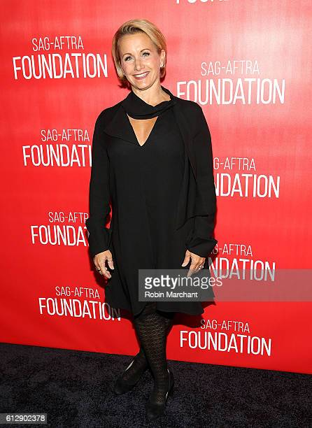 Gabrielle Carteris attends The Grand Opening Of SAGAFTRA Foundation's Robin Williams Center on October 5 2016 in New York City