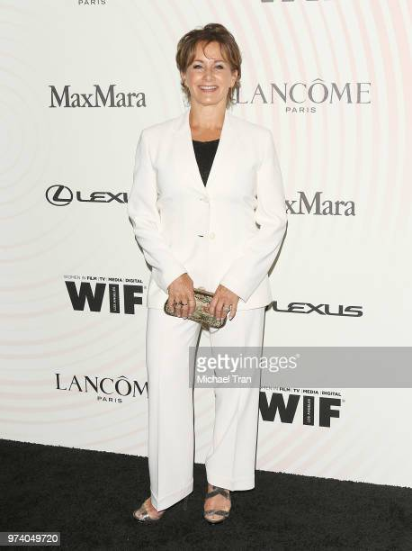 Gabrielle Carteris attends the Women In Film 2018 Crystal Lucy Awards held at The Beverly Hilton Hotel on June 13 2018 in Beverly Hills California