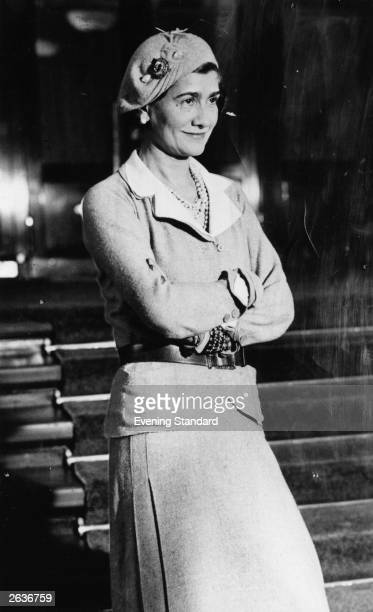 Gabrielle Chanel known as Coco the French couturier