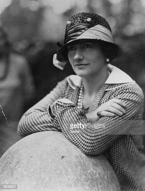 Gabrielle Chanel, known as Coco , top French couturier, at Fauborg, St Honore, Paris.