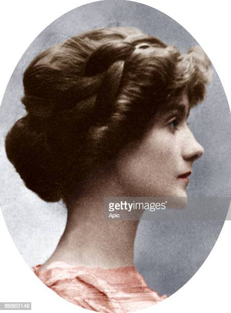 Gabrielle Chasnel called Coco Chanel french fashion designer here before 1914