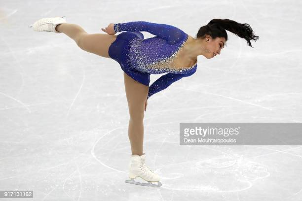 Gabrielle Daleman of Canada competes in the Figure Skating Team Event – Ladies' Single Free Skating on day three of the PyeongChang 2018 Winter...