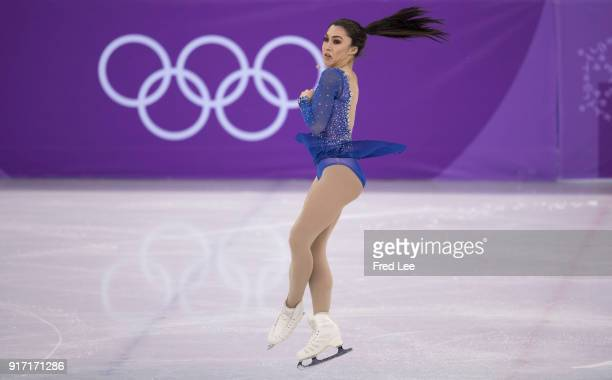 Gabrielle Daleman of Canada competes in the Figure Skating Team Event Ladie's Single Free Skating on day three of the PyeongChang 2018 Winter Olympic...