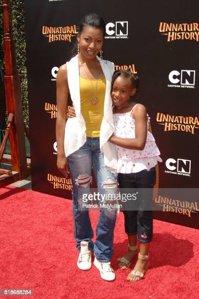 Gabrielle Dennis and attend Cartoon Network Hosts RedCarpet World Premiere of 'Unnatural History' at Steven J Ross Theater on June 12 2010 in Warner...