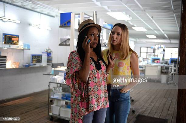 Gabrielle Dennis as Pippy Rosewood and Anna Konkle as Tara Milly Izikoff aka TMI in the 'Pilot' series premiere episode of ROSEWOOD airing Wednesday...