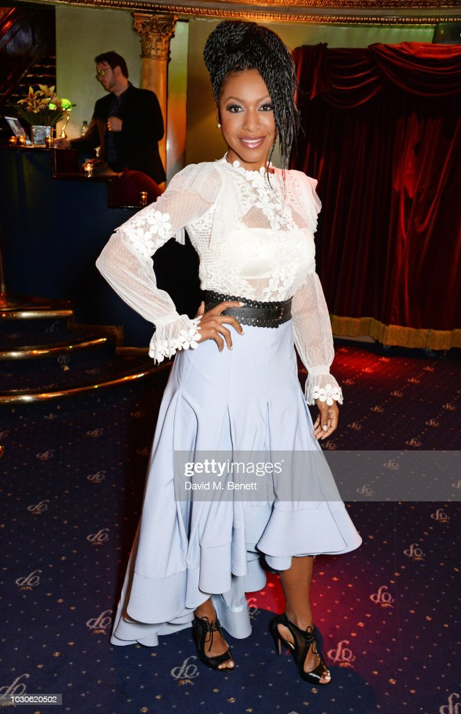 Gabrielle Dennis attends a special screening of 'The Bobby Brown Story' at Cafe de Paris on September 10, 2018 in London, England.