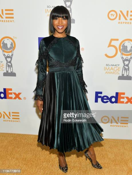 Gabrielle Dennis attends the 50th NAACP Image Awards Nominees Luncheon at Loews Hollywood Hotel on March 09 2019 in Hollywood California