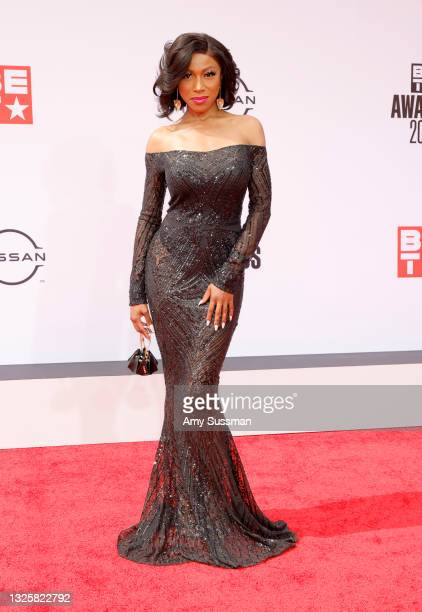 Gabrielle Dennis attends the BET Awards 2021 at Microsoft Theater on June 27, 2021 in Los Angeles, California.