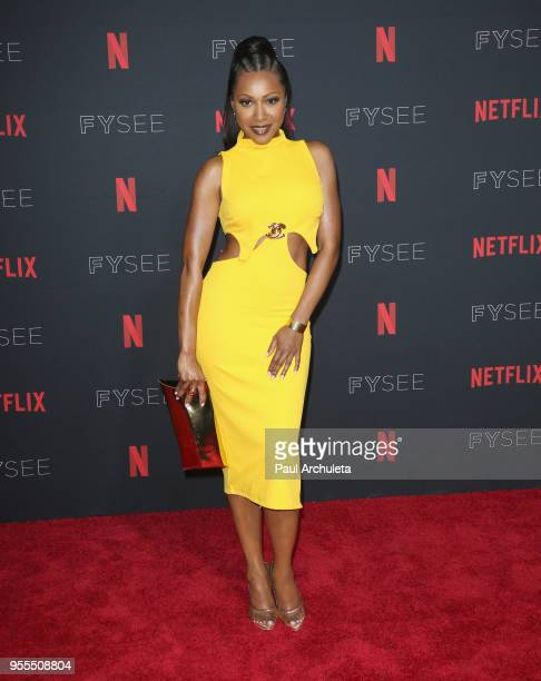 Gabrielle Dennis attends the Netflix FYSEE KickOff at Netflix FYSEE At Raleigh Studios on May 6 2018 in Los Angeles California