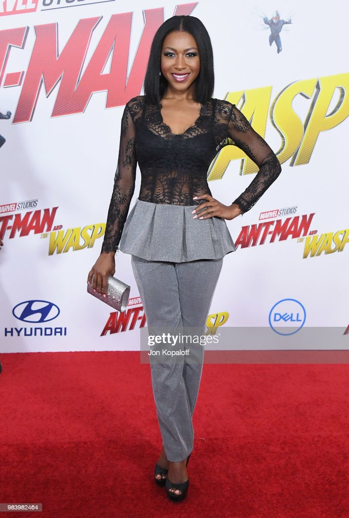 """Premiere Of Disney And Marvel's """"Ant-Man And The Wasp"""" - Arrivals"""