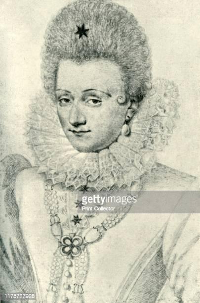 Gabrielle d'Estrées Portrait of French noblewoman Gabrielle d'Estrées Duchess of Beaufort and Verneuil Marchioness of Monceaux mistress confidante...