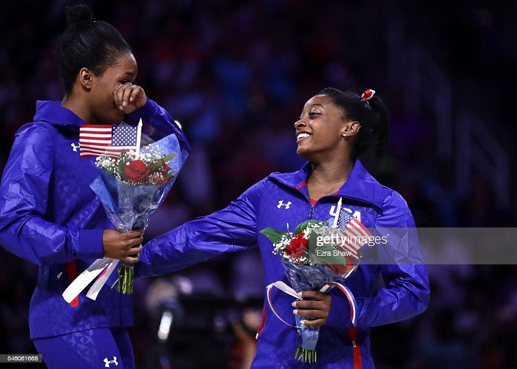 2016 U.S. Olympic Trials - Women's Gymnastics - Day 2 : News Photo