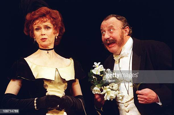 Gabrielle Drake British Actress British Actor MALCOLM RENNIE In a scene from the play 'Lady Windermere's Fan' at the Theatre Royal Haymarket London