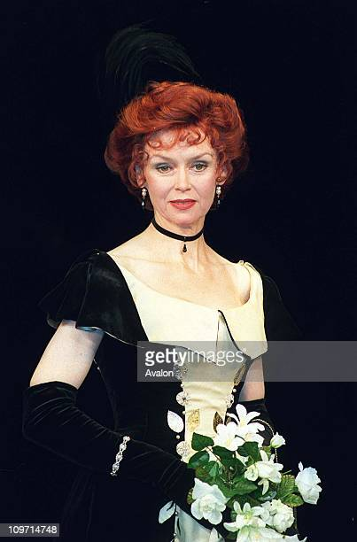 Gabrielle Drake British Actress Stars in the play 'Lady Windermere's Fan' at the Theatre Royal Haymarket London