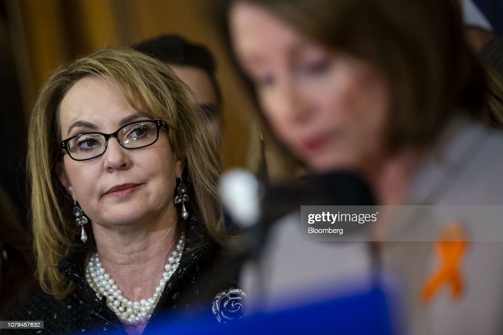 House Democrats Unveil Legislation To Expand Background Checks For Sales Of Firearms : News Photo
