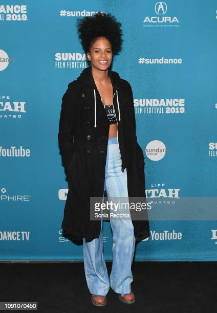 Gabrielle Maiden attends the Indie Episodic Program 2 during the 2019 Sundance Film Festival at Prospector Square Theatre on January 29 2019 in Park...