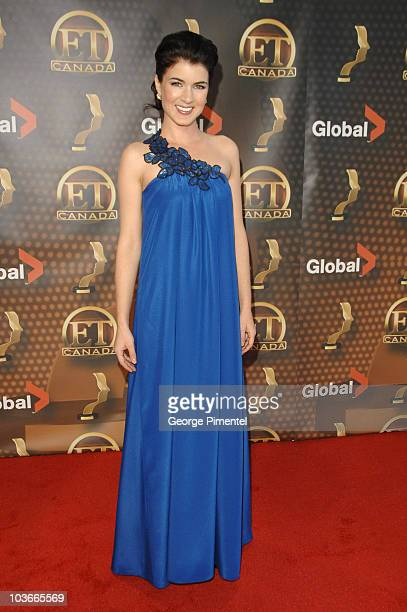 """Gabrielle Miller from """"Corner Gas"""" attends The 22nd Annual Gemini Awards at the Conexus Arts Centre on October 28, 2007 in Regina, Canada."""