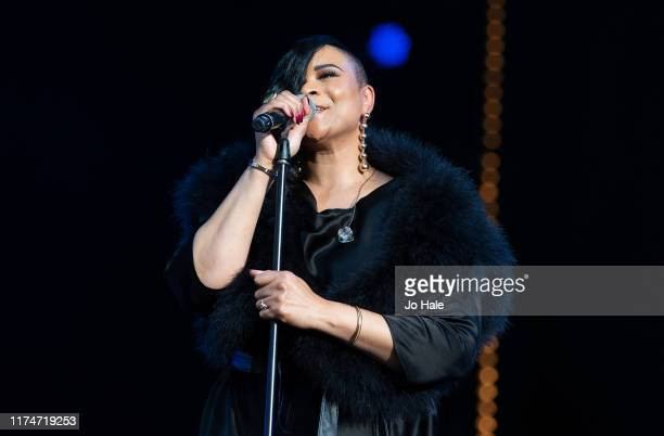 Gabrielle performs on stage during BBC Proms In The Park 2019 at Hyde Park on September 14 2019 in London England