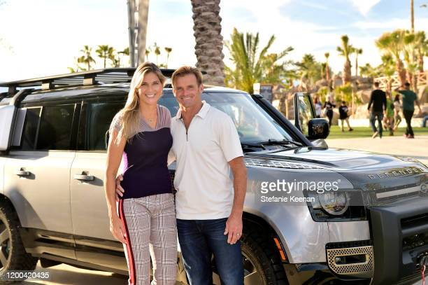 Gabrielle Reece and Laird Hamilton attend Land Rover 4XFAR on January 18 2020 in Palm Springs California
