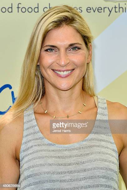 Gabrielle Reece arrives at Children Mending Hearts' 6th Annual Fundraiser 'Empathy Rocks A Spring Into Summer Bash' on June 14 2014 in Beverly Hills...