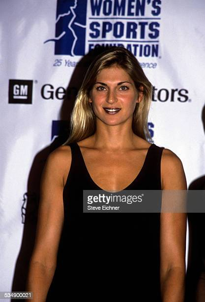 Gabrielle Reece at Women in Sports event New York October 18 1999