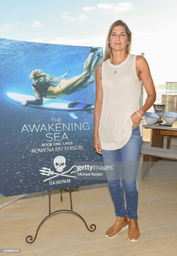 Gabrielle Reece attends 'The Awakening Sea' Launch Party By Rowena Patterson on July 27, 2017 in Malibu, California.