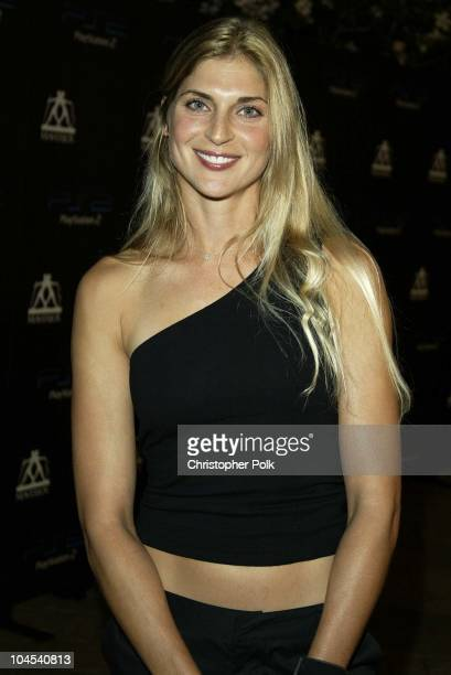 Gabrielle Reece during PlayStation2 Guy Oseary's 30th Birthday Party in Beverly Hills California United States