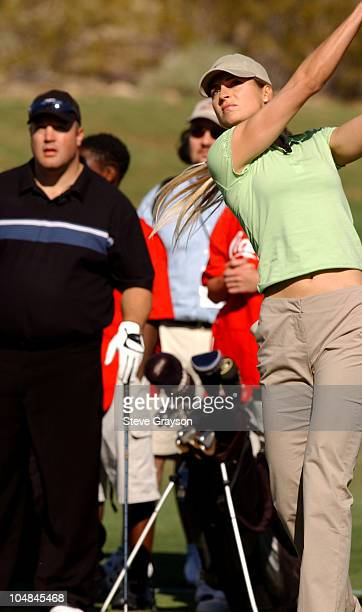 Gabrielle Reece during Tiger Jam V Celebrity Skins Golf Match at Rio Secco Golf Club in Henderson Nevada United States