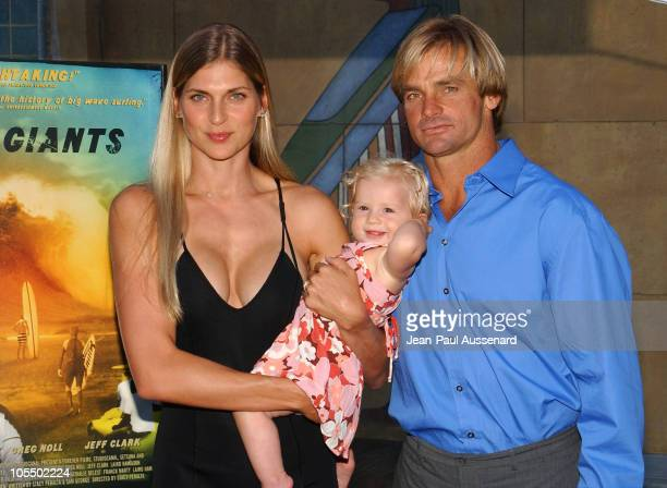 Gabrielle Reece Laird Hamilton and their daughter Reece