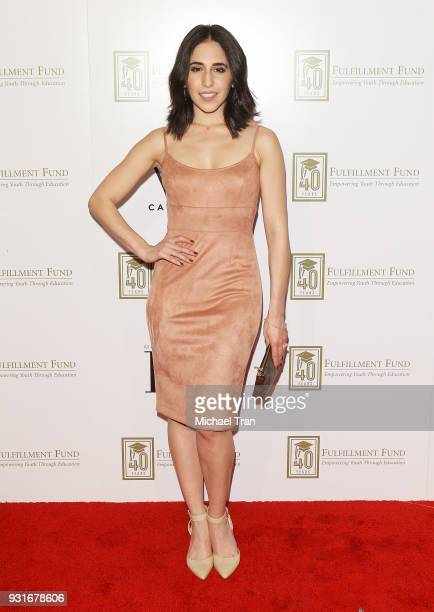 Gabrielle Ruiz attends A Legacy of Changing Lives presented by The Fulfillment Fund held at The Ray Dolby Ballroom at Hollywood Highland Center on...