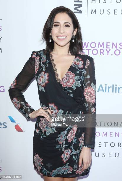 Gabrielle Ruiz attends the National Women's History Museum's 7th Annual Women Making History Awards held at The Beverly Hilton Hotel on September 15...