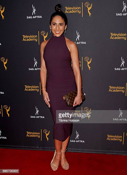 Gabrielle Ruiz attends the Television Academy and SAGAFTRA's 4th annual Dynamic and Diverse Celebration at Saban Media Center on August 24 2016 in...
