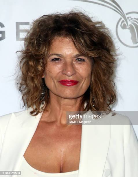 Gabrielle Scharnitzky attends the GEANCO Foundation Hollywood Gala at SLS Hotel on October 10 2019 in Beverly Hills California