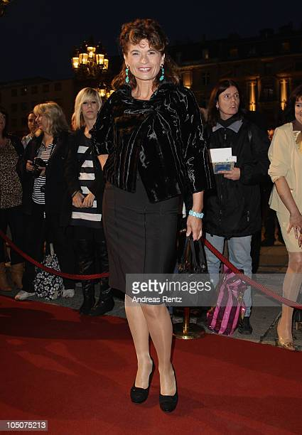Gabrielle Scharnitzky attends the 'Hesse Movie Award 2010' at the Alte Oper on October 8 2010 in Frankfurt am Main Germany