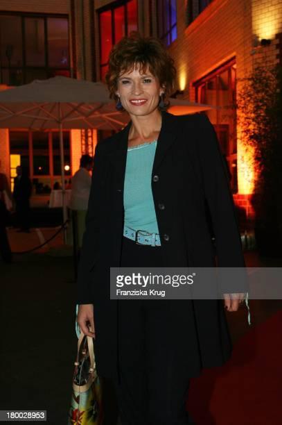 Gabrielle Scharnitzky Beim Dachterrassenfest Von Der Produktionsfirma Mme In Berlin Am 260806
